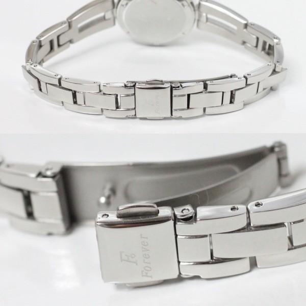 フォーエバー Forever レディス腕時計 ピンクシェル文字盤  ポイントインデックス FL1211-5 ギフト プレゼント 誕生日|zennsannnet|05