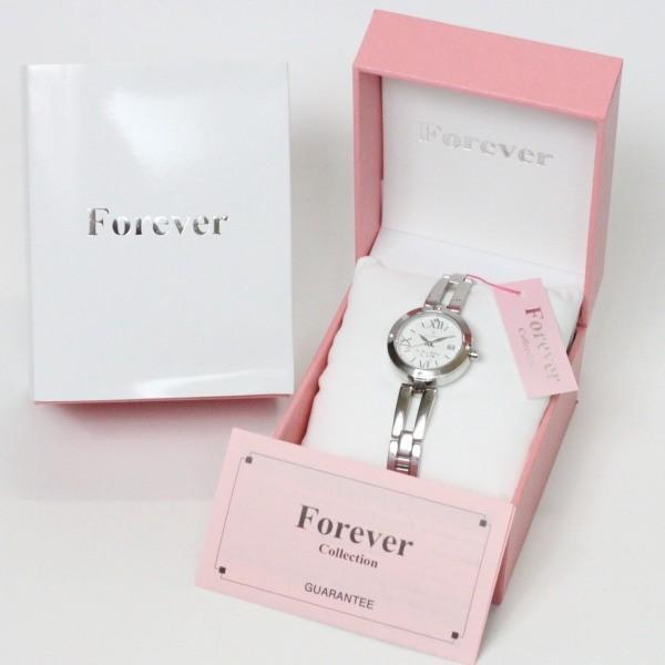フォーエバー Forever レディス腕時計 ピンクシェル文字盤  ポイントインデックス FL1211-5 ギフト プレゼント 誕生日|zennsannnet|07