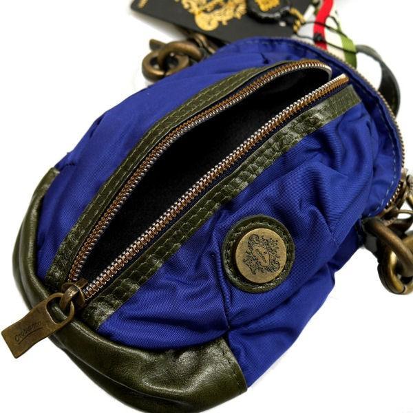 OROBIANCO オロビアンコ ショルダーバッグ ボディバック ネイビー系 GRAFFIO MINI-G OR168 BLU-02 ギフト プレゼント|zennsannnet|04