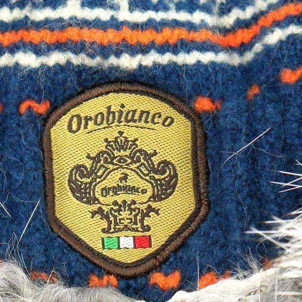 オロビアンコ レディス手袋 日本製 グローブ ラビットファー  ORL-1574 タッチパネル対応 ネイビー ギフト プレゼント 誕生日 クリスマス|zennsannnet|04