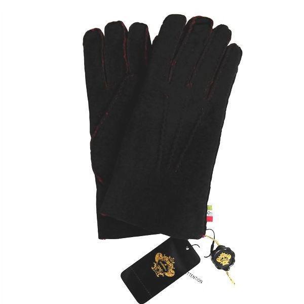 オロビアンコ  メンズ手袋 グローブ ブラック レッド 24cm ムートン イタリー製 ORM-1409 ギフト プレゼント 誕生日 クリスマス|zennsannnet|02