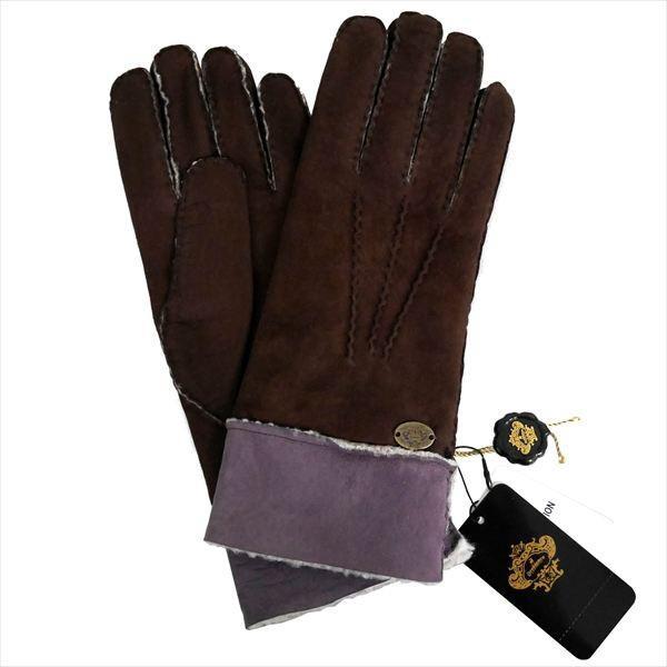 オロビアンコ メンズ手袋 グローブ ダークブラウン ラベンダー 24cm ムートン イタリー製 ORM-1410 ギフト プレゼント 誕生日 クリスマス|zennsannnet|02