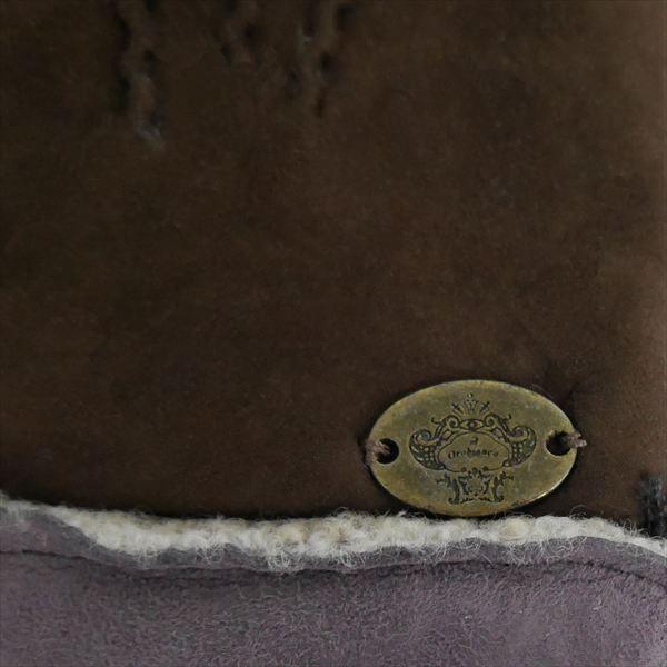オロビアンコ メンズ手袋 グローブ ダークブラウン ラベンダー 24cm ムートン イタリー製 ORM-1410 ギフト プレゼント 誕生日 クリスマス|zennsannnet|04
