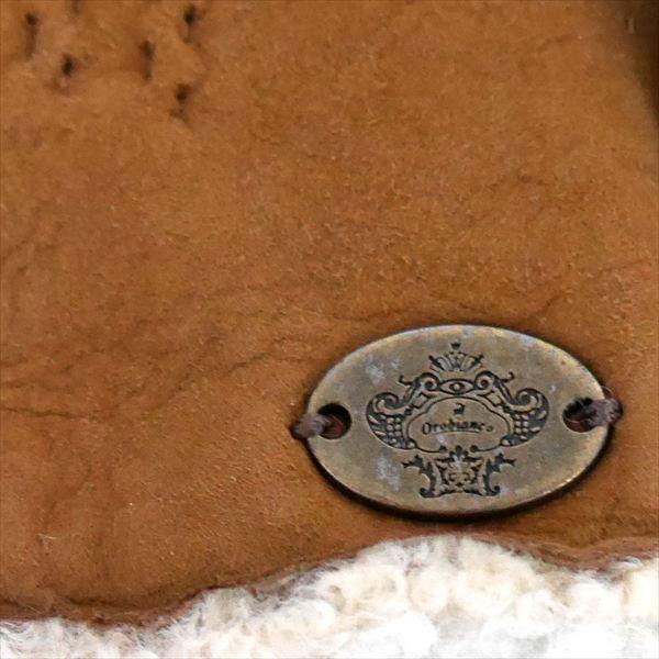 オロビアンコ メンズ手袋 グローブ キャメル ミント 23cm ムートン イタリー製 ORM-1410 ギフト プレゼント 誕生日 クリスマス|zennsannnet|04