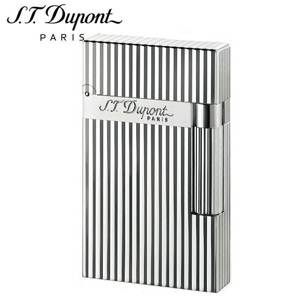 エス・テー・デュポン ST.DUPONT LINE2 ラインツー ヴァーティカルライン シルバー ガスライター 喫煙具 016817 正規品 ギフトプレゼント