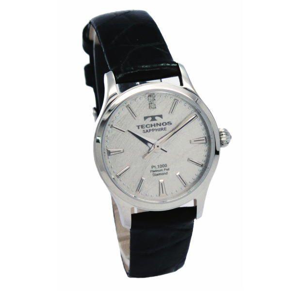 テクノス TECHNOS メンズ腕時計 プラチナ箔文字盤 T1033SS|zennsannnet|03