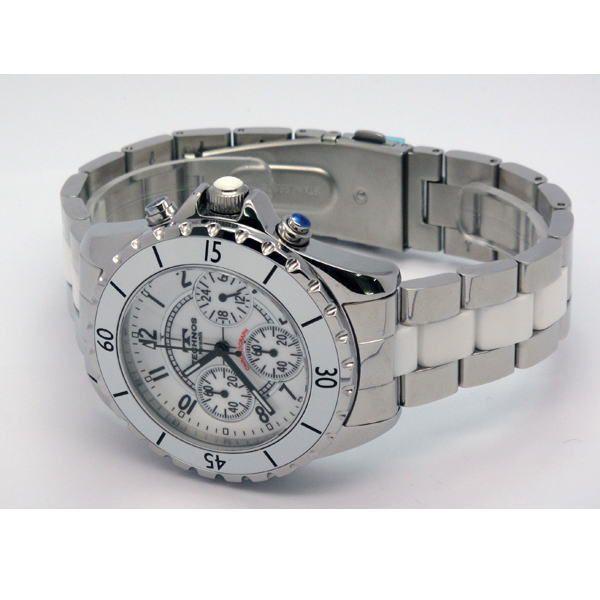 テクノス TECHNOS メンズ腕時計 100m防水 クロノグラフ T3032TW|zennsannnet|03