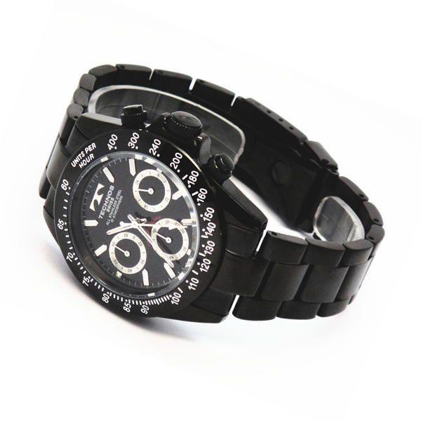 テクノス TECHNOS メンズ腕時計 100m防水仕様 クロノグラフ TGM615-BB zennsannnet 03