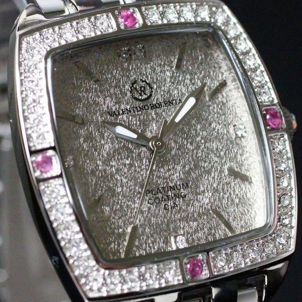 バレンチノ・ロレンタ VALENTINO ROLENTA メンズ腕時計 ルビー宝飾時計 VR2001-MR ギフトプレゼント贈答品 zennsannnet 02