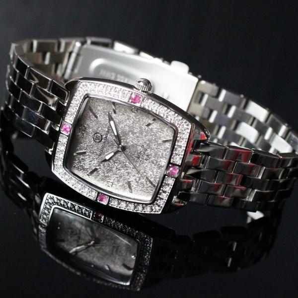 バレンチノ・ロレンタ VALENTINO ROLENTA メンズ腕時計 ルビー宝飾時計 VR2001-MR ギフトプレゼント贈答品 zennsannnet 04