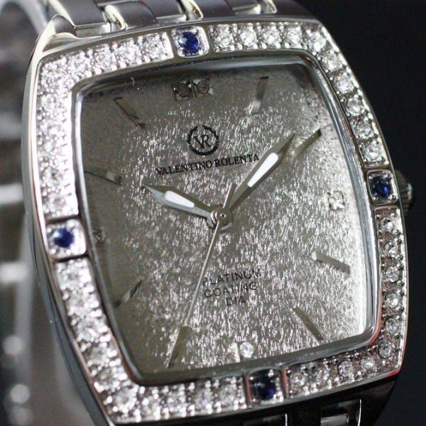 バレンチノ・ロレンタ VALENTINO ROLENTA メンズ腕時計 サファイヤ宝飾時計 VR2001-MS ギフトプレゼント贈答品|zennsannnet|02