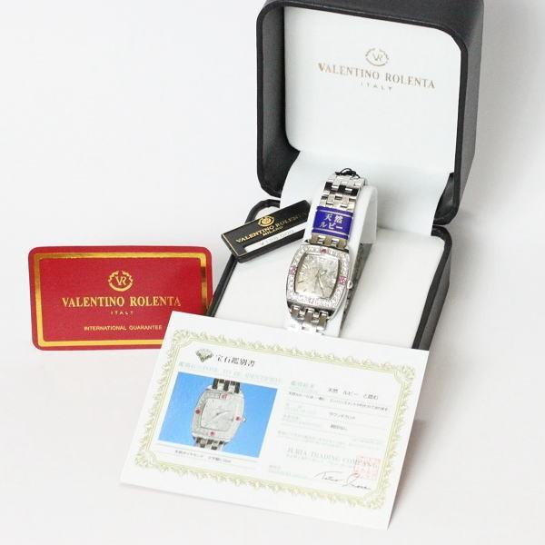 バレンチノ・ロレンタ VALENTINO ROLENTA メンズ腕時計 サファイヤ宝飾時計 VR2001-MS ギフトプレゼント贈答品|zennsannnet|05