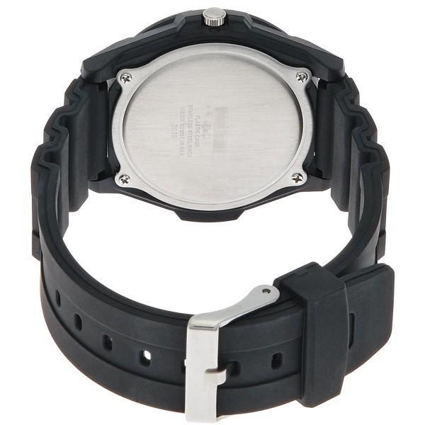 メンズ腕時計 シチズン Q&Q スポーツ 10気圧防水 ブラック ブラックインデックス VR44-002|zennsannnet|02
