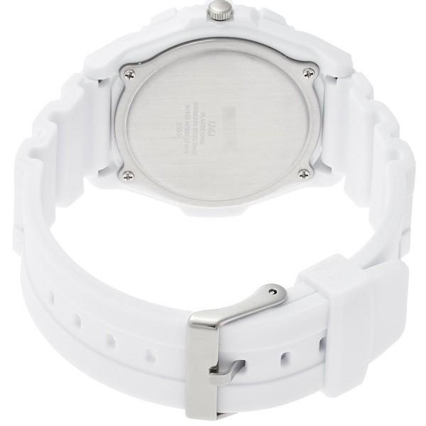 メンズ腕時計 シチズン Q&Q スポーツ 10気圧防水 ホワイト ホワイトインデックス アラビア数字 VR78-002|zennsannnet|02