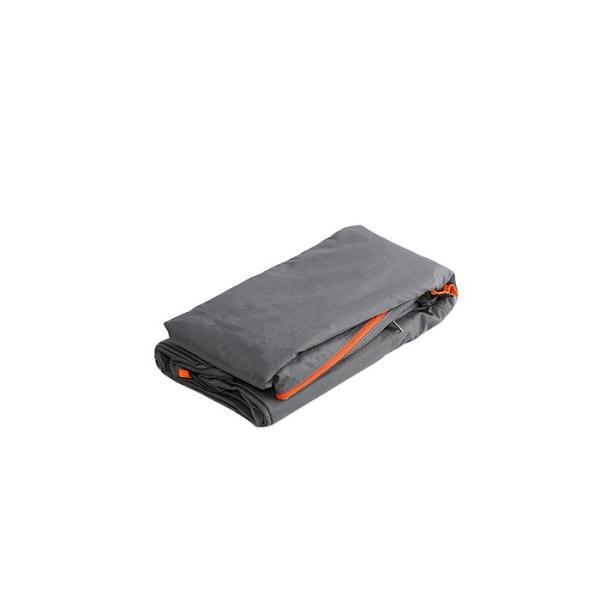 DOPPELGANGERストレージバイクガレージ交換カバーDCC496M-GY(グレー×オレンジ)?4589946140453