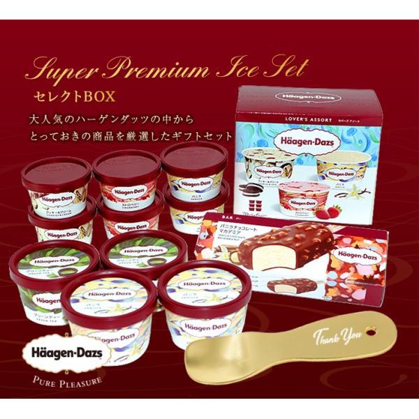 遅れてごめんね父の日 とろけるスプーン付き ハーゲンダッツ アイスクリーム セレクトBOX 定番人気 11個 zenzaemon 06
