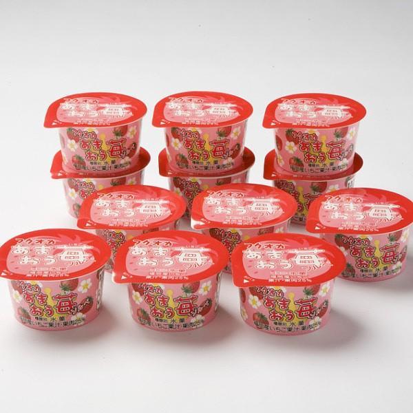アイス ギフト 残暑見舞い あまおう苺ソルべ 12個 アイス シャーベット いちご 誕生日