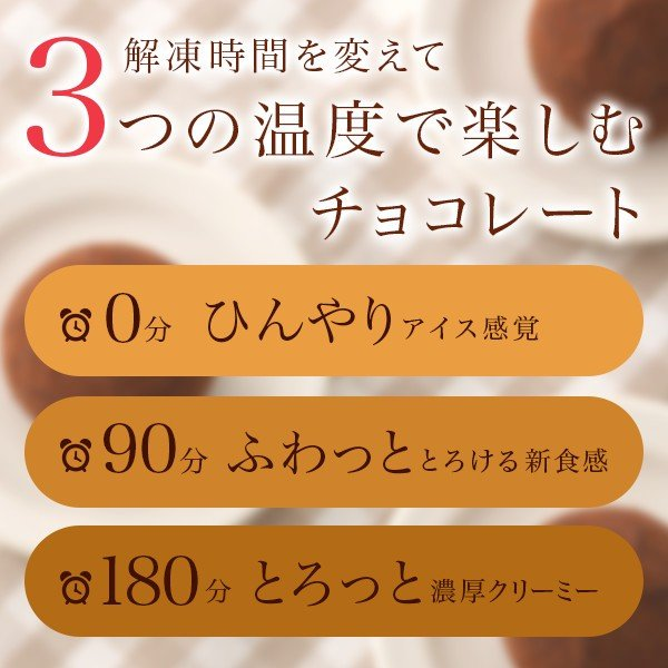 バレンタイン2020 カカオの雫 トリュフ 生クリーム チョコレート お菓子 ギフト|zenzaemon|03