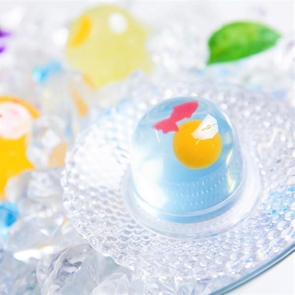 送料無料 京都宇治 菓楽 涼々ゼリー 4種詰め合わせ 12個 お菓子|zenzaemon|07