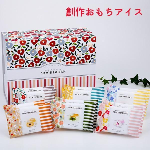 お歳暮 御歳暮 おもちアイス 桜庵 MOCHIMORE 6種12個セット アイスクリーム zenzaemon