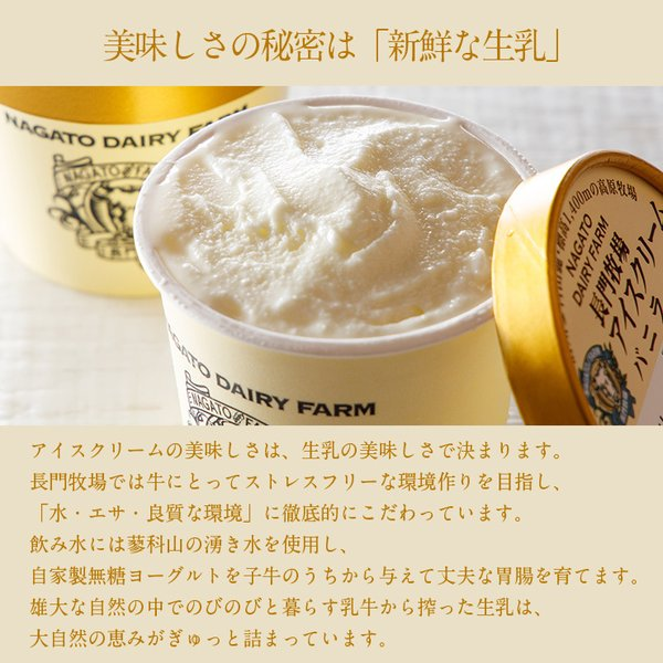 ギフト 長門牧場 アイスクリーム 10個セット 内祝 お祝 結婚 出産 zenzaemon 03