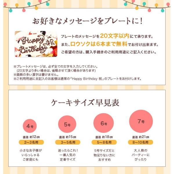 誕生日ケーキ バースデー アイスケーキ フローズンマンゴーと生乳アイスクリームのアイスデコレーションケーキ 6号|zenzaemon|06