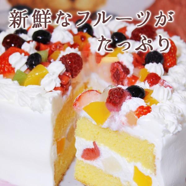 クリスマス限定 生クリームのデコレーションケーキ5号 xmascake 選べるフルーツ ショートケーキ zenzaemon 02