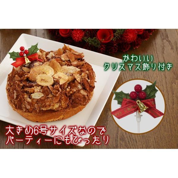 クリスマス限定 チョコとバナナのノエルパイ スイーツ xmascake にれい パイ ケーキ zenzaemon 07
