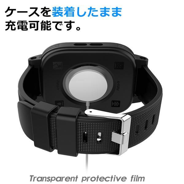 Apple Watch 防水 ケース カバーSeries2/3/4 38mm 44mm 40mm 耐震 防雪 防塵 耐衝撃 防水 全面保護 IP68 アップルウォッチ 海 お風呂 アウトドア|zepirion|05