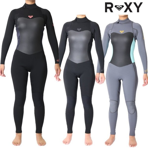ロキシー ウェットスーツ レディース 4×3mm インナーバリア フルスーツ ウエットスーツ サーフィンウェットスーツ Roxy Wetsuits|zero1surf