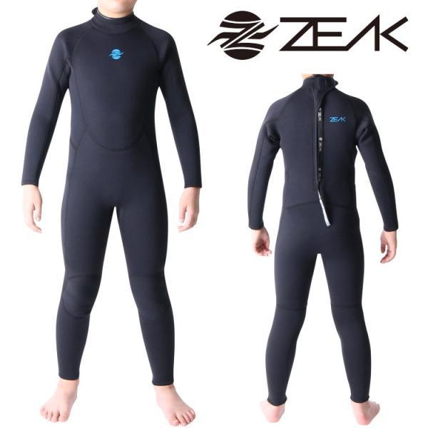 ZEAK(ジーク) ウェットスーツ キッズ 子供用 3×2mm フルスーツ サーフィン ウエットスーツ ZEAK WETSUITS zero1surf