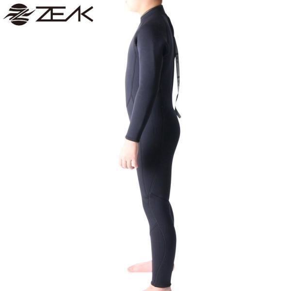ZEAK(ジーク) ウェットスーツ キッズ 子供用 3×2mm フルスーツ サーフィン ウエットスーツ ZEAK WETSUITS zero1surf 04