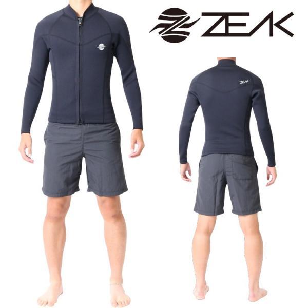 ZEAK(ジーク) ウェットスーツ メンズ 男性用 長袖 タッパー ジャケット ウエットスーツ サーフィン ウエットスーツ ZEAK WETSUITS|zero1surf