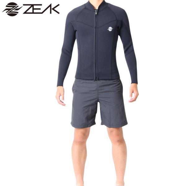 ZEAK(ジーク) ウェットスーツ メンズ 男性用 長袖 タッパー ジャケット ウエットスーツ サーフィン ウエットスーツ ZEAK WETSUITS|zero1surf|03