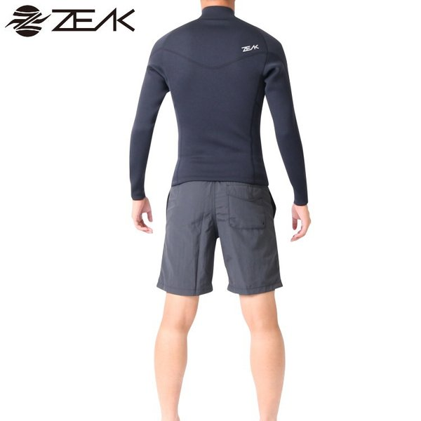 ZEAK(ジーク) ウェットスーツ メンズ 男性用 長袖 タッパー ジャケット ウエットスーツ サーフィン ウエットスーツ ZEAK WETSUITS|zero1surf|05