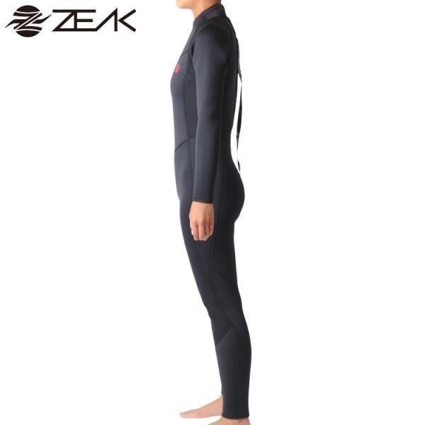 ZEAK(ジーク) ウェットスーツ レディース 女性用 5×3mm フルスーツ ウエットスーツ サーフィン ウエットスーツ ZEAK WETSUITS|zero1surf|04