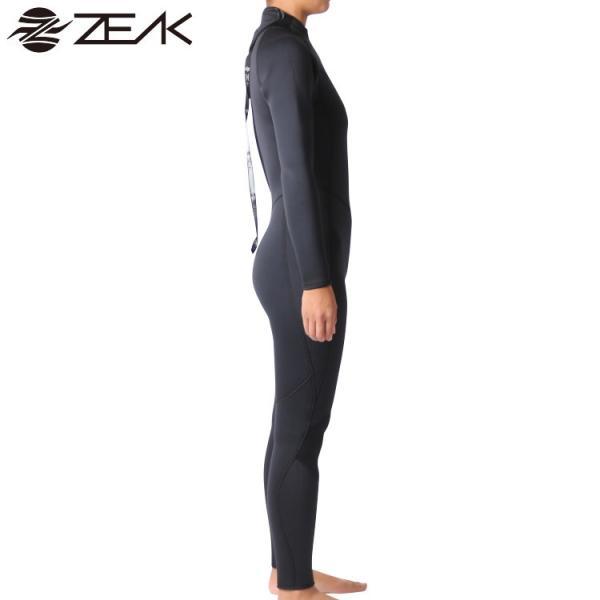 ZEAK(ジーク) ウェットスーツ レディース 女性用 5×3mm フルスーツ ウエットスーツ サーフィン ウエットスーツ ZEAK WETSUITS|zero1surf|06