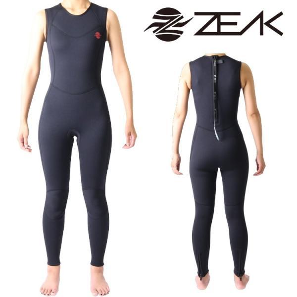 ZEAK(ジーク) ウェットスーツ レディース ロングジョン (3mm) ウエットスーツ サーフィン ウエットスーツ ZEAK WETSUITS