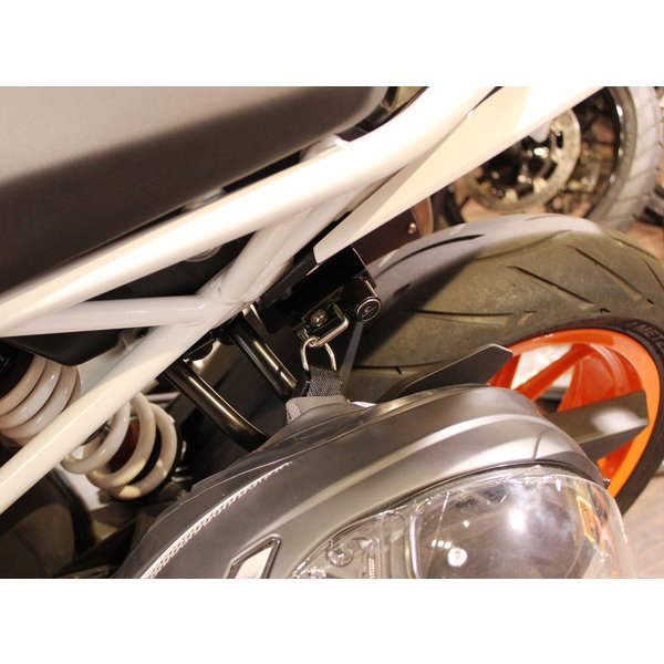 KTM 125DUKE(17年) ヘルメットロック ブラック KIJIMA(キジマ) zerocustom 02