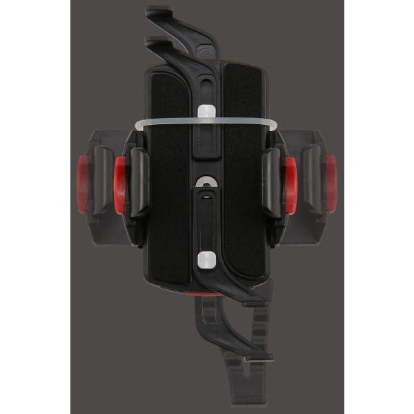 【あすつく対象】バイク用スマートフォンホルダーWIDE(iPhone5・6・6Plus・7・7Plus・8・8plus・X対応)リジットタイプ iH-550D DAYTONA(デイトナ)|zerocustom|02