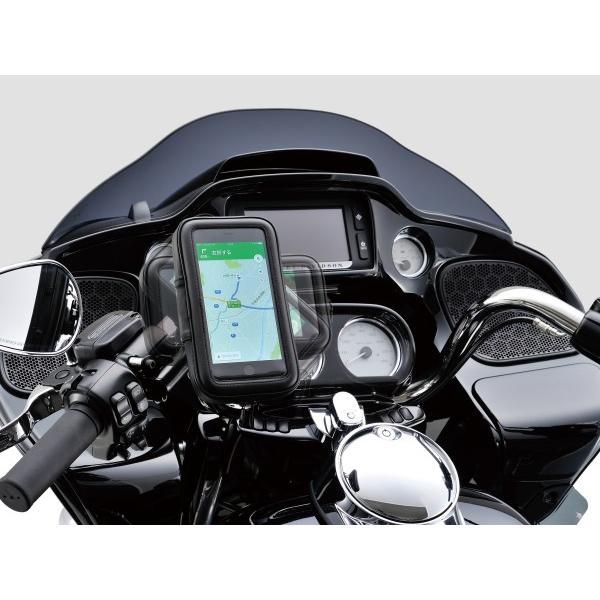 バイク用スマートフォンケース XLサイズ リジット式(ボルト留めタイプ) DAYTONA(デイトナ) zerocustom 06