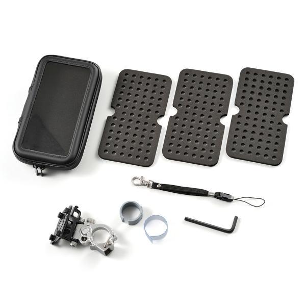 バイク用スマートフォンケース XLサイズ クイック式(工具不要タイプ) DAYTONA(デイトナ)|zerocustom