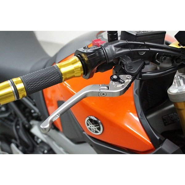 KTM 690DUKE '08〜'11 可倒式アジャストレバーセット 3D レバー:チタン   SSK(エスエスケー)|zerocustom|02