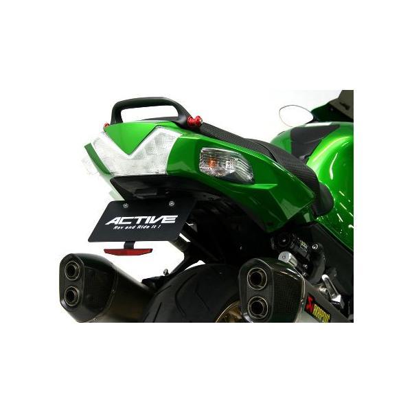 【あすつく対象】汎用リフレクターキットTYPE-3(スリム ブラック) 125cc超対応 ACTIVE(アクティブ)|zerocustom|03