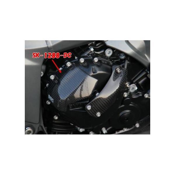 クラッチカバー ドライカーボン ササキスポーツクラブ(SSC) BMW K1200R|zerocustom|02