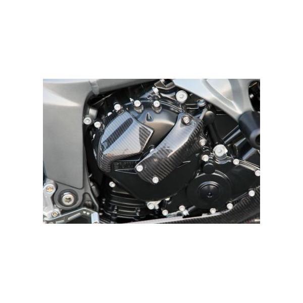 クラッチカバー ドライカーボン ササキスポーツクラブ(SSC) BMW K1200R|zerocustom|03