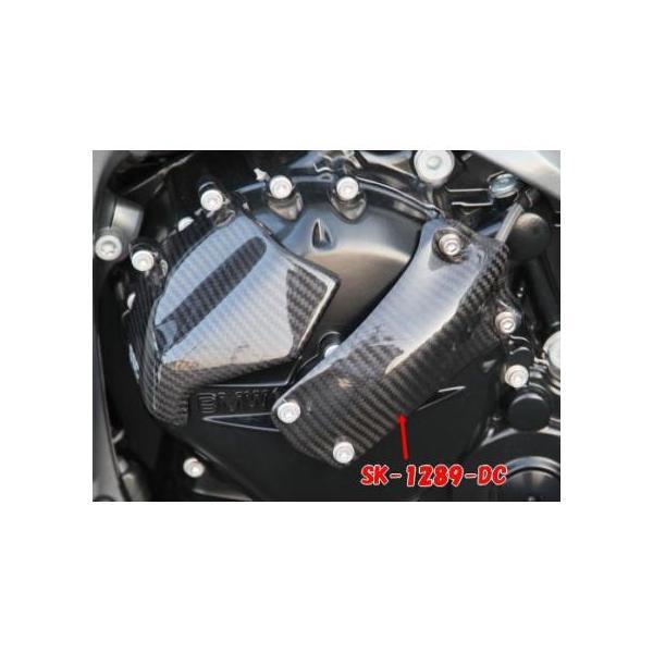 クラッチホースカバー ドライカーボン ササキスポーツクラブ(SSC) BMW K1200R|zerocustom|02
