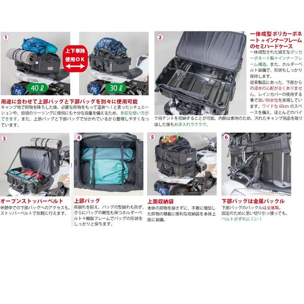 グランドシートバッグ 70リットル(L) タナックス(TANAX)|zerocustom|03