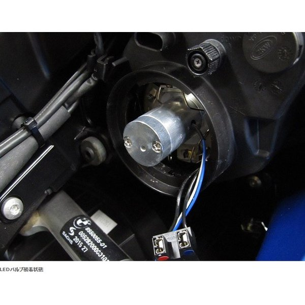 BMW S1000RR(15〜16年) LEDヘッドライトバルブKIT H7 6000k 20w(Loビーム側用) PROTEC(プロテック)|zerocustom|03