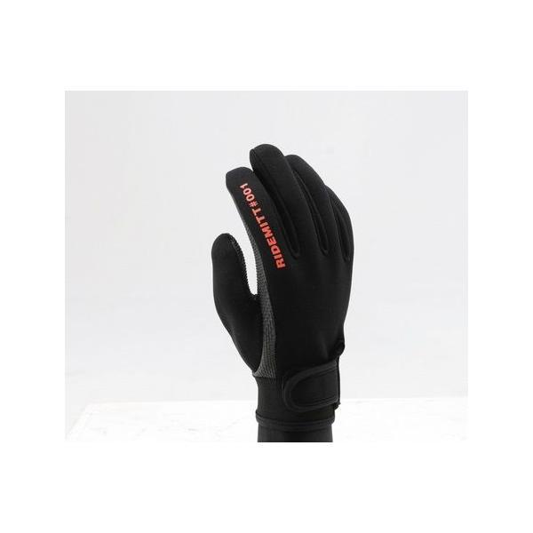 【セール特価】RIDEMITT(ライドミット)001 ネオプレングローブ シャークスキン ブラック Sサイズ DAYTONA(デイトナ) zerocustom